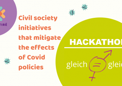 Equal = equal: a digital hackathon to collect ideas for gender equality in Germany