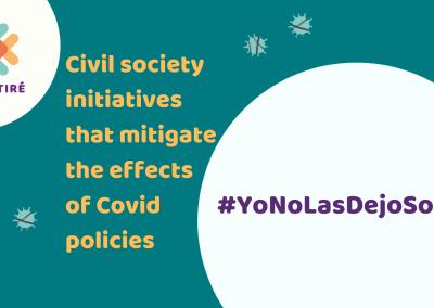 Yo no las dejo solas: a fundraising to help domestic workers during COVID-19